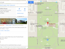 The White House on Google Maps