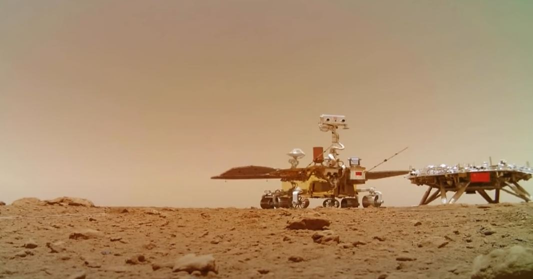 China Mars Rover Zhurong Camera: Martian Surface Video, Audio Recorded [Where to Watch Online]