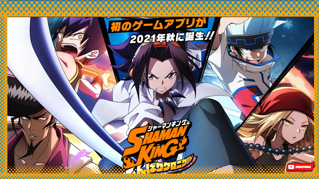 'Shaman King: Funbari Chronicle' Mobile Game App—July Pre-Registration, Character Illustrations, and More
