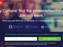Lenovo and Microsoft announce Cortana REACHit for Windows 10 devices