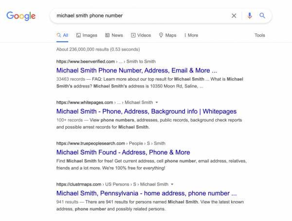 Michael Smith was the 2nd most frequent name combination in 2013, Statista data reveals