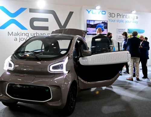 3D-Printed Car Spotted at IAA 2021: Photos, Full Specs and Design of XEV YoYo Electric Vehicle