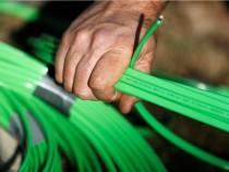 Fiber optic broadband internet cables