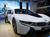 BMW i8 hybrid prototype
