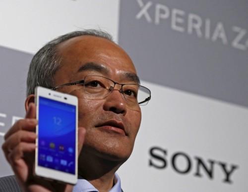 Sony Mobile Communications Inc President and CEO Hiroki Totoki
