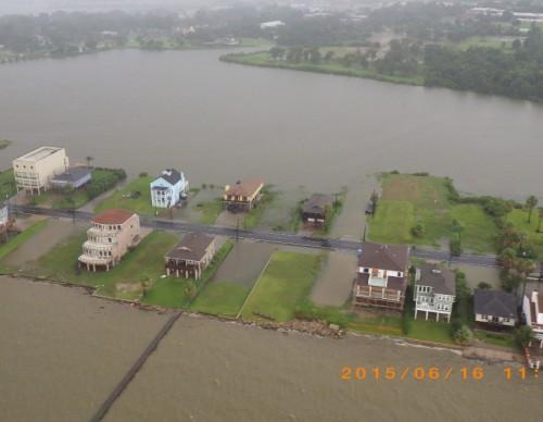 US coastal cities devastated by floods