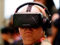Oculus VR Rift headset