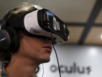 Oculus Samsung Gear VR with the Galaxy Note 4 virtual reality headset
