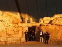 Megalithic Mnajdra Temple in Malta