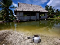 Pacific island nations threatened by climate change