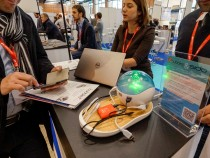 IoT devices at the Connected Business trade show