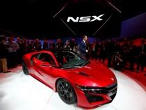 Acura's New NSX Is A Hybrid Supercar