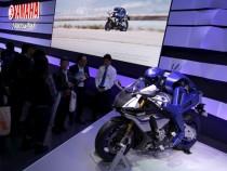 Yamaha Unveils Motorcycle-Riding Robot
