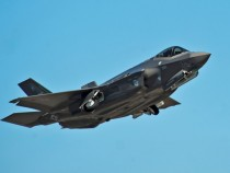 Lockheed F-35A Takes Flight With New Artillery