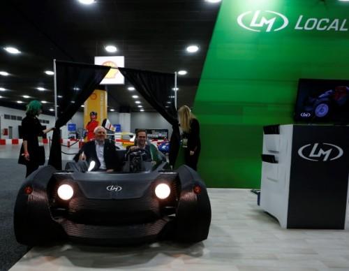 Local Motors Reveal 3D Printed Car