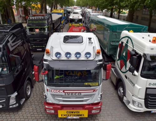 Cold Natural Liquefied Gas Could Heat Trucks Slowly