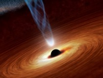 Supermassive Black Hole Eats A Star