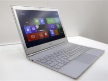 An Acer 11-inch ultrabook Aspire S7 with Microsoft Windows 8 operation system is displayed during a news conference as part of the preview of the 2012 Computex exhibition at the Taipei International Convention Center in Taipei June 4, 2012.