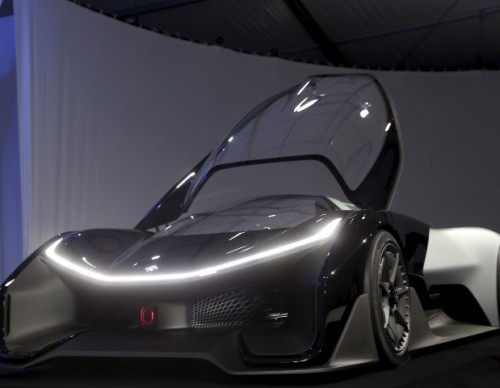 Faraday Future Unveils The FFZERO1