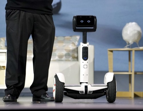 Segway Unveils Robot Hoverboard At CES