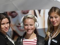 Girls on Headphones