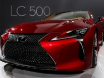 Lexus Debuts The LC 500 Customized By Akio Toyoda