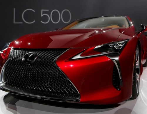 Lexus Debuts The LC 500 Customized By Akio Toyoda