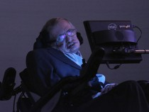 Professor Stephen Hawking Unveils Medal For Science Communication