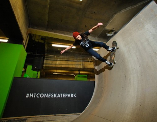 The HTC One Skatepark At Selfridges