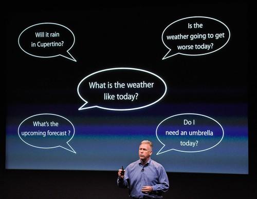 Siri virtual personal assistant