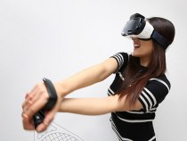 Samsung's 'Rink' motion controllers for Gear VR.