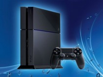 A file photo of Sony's latest console PlayStation 4.