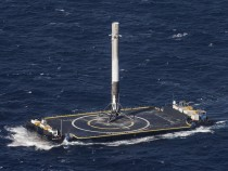SpaceX Lands Third Rocket In Three Months