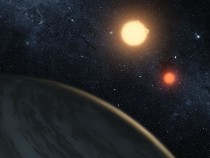 Dayton's Friends from Outspace (In Photo: NASA's Kepler Mission Discovers A World Orbiting Two Stars)