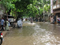 Monsoon floods in Chennai, India