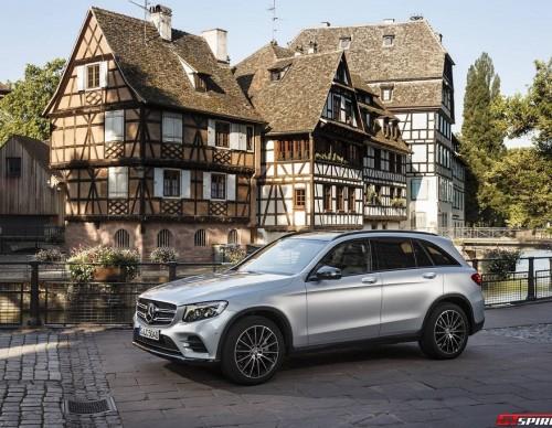 Mercedes Benz GLC Hydrogen FCV to Launch Next Year