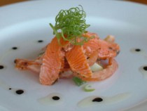 The Salmon starter at Collins House Rest