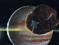 Jovian Moon Discovered By Galileo May Be Full Of Holes