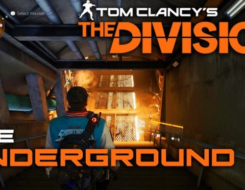Tom Clancy's The Division Guide To Downloading Underground In PS4