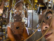 First Quantum Computer