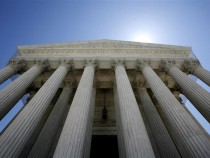 The U.S. Supreme Court building seen in Washington