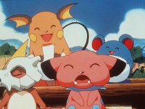 Cubone Raichu Snubble And Marrill In The Animated Movie Pokemon:The First Movie