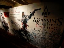 Barbers Offer Smooth Shaves With A Schick Hydro 5 Razor Aboard The Assassin's Creed IV Black Flag Jackdaw Ship At Comic Con - Day 1