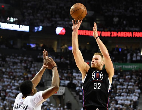Los Angeles Clippers v Portland Trail Blazers - Game Three
