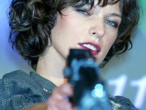 Actress Milla Jovovich attends a press conference to promote the film 'Resident Evil: Apocalypse' on August 23, 2004 in Tokyo, Japan.