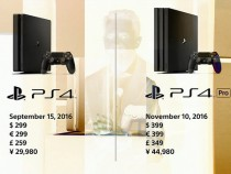 PlayStation 4 Pro Price and Launch Date Reveal