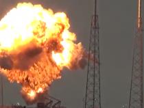 SpaceX Falcon 9 Explosion