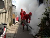 Fumigation against Zika virus in Indonesia