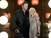 Recording Artists Gwen Stefani and Blake Shelton Performs On-stage during the 2016 Billboard Music Awards