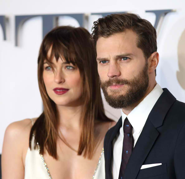 """Fifty Shades Darker"" Stars Dakota Johnson and Jamie Dornan"